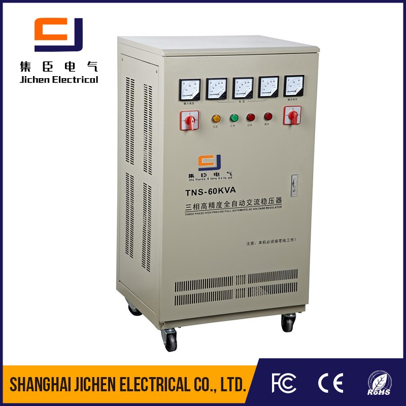 Manufacturer TNS series three phase AC automatic voltage regulator