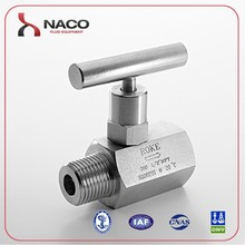 Blow off underground small water valve needle