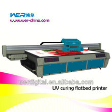 uv led printer 1.6m*2.8m with 2pcs DX5 print heads