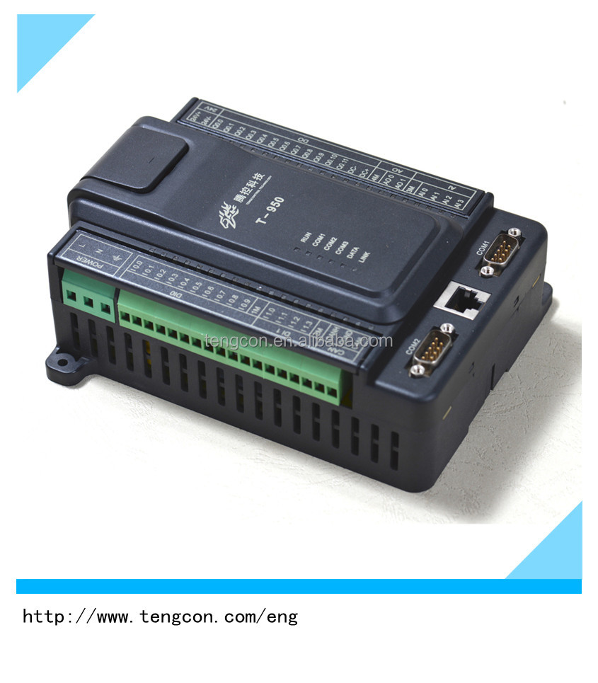 TENGCON T-950 Analog Input/Output and Digital Input/Output Programmable Logic Controller for Small Industrial Control System
