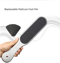 Good Quality Pedicure Foot Pad File Replacable Disk Foot Callus Removber File