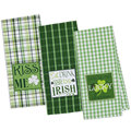 clover embroidery Cotton Kitchen Towel Dish Towel Tea Towel, set of 3