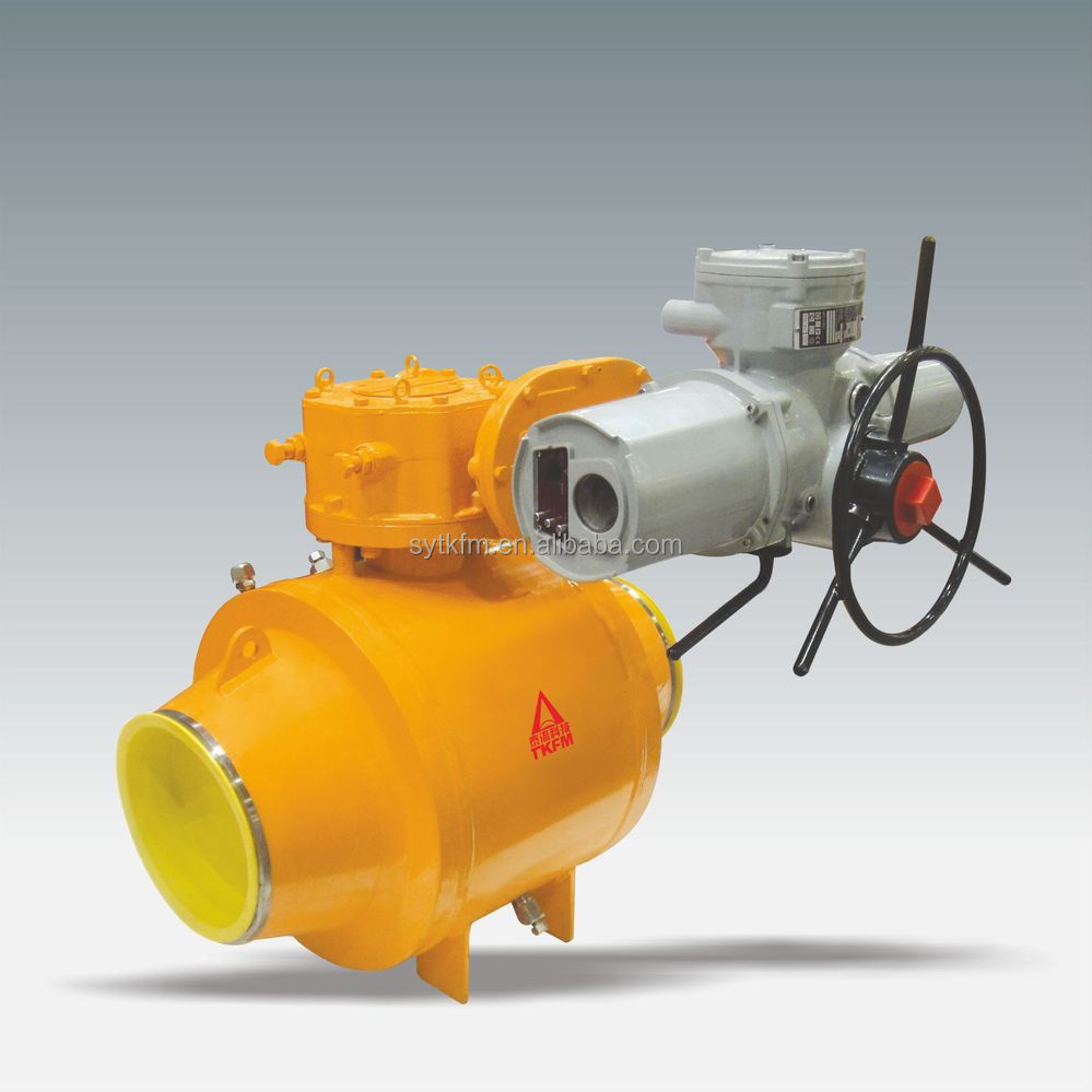 Made in China standard hand wheel gear motorized industrial ball valve for oil and gas