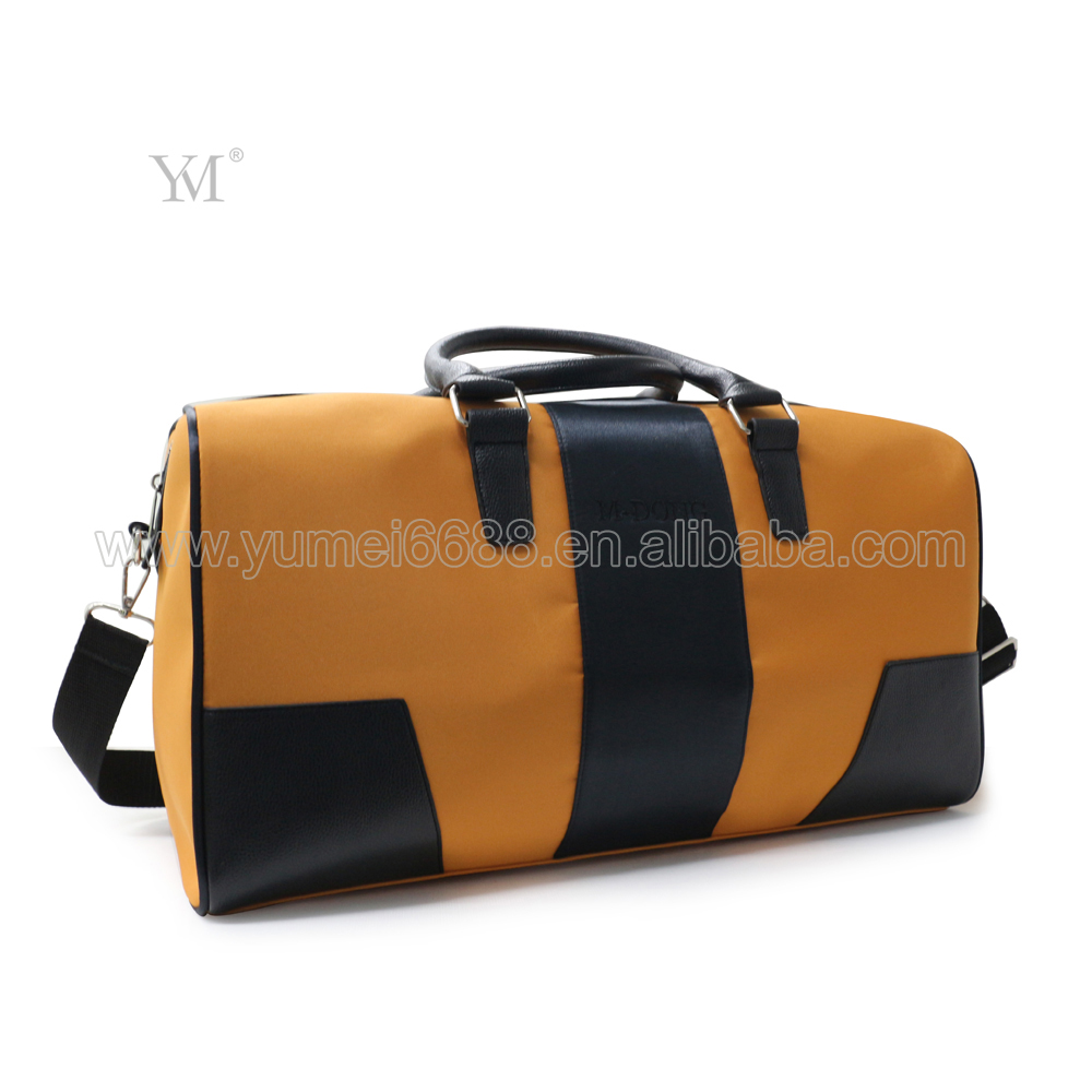 wholesale travel leather duffle bag with handle