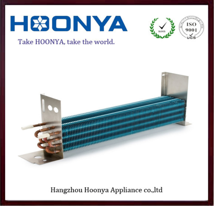Factory Hot Sales Aluminum fin Copper tube double pipe heat exchanger price