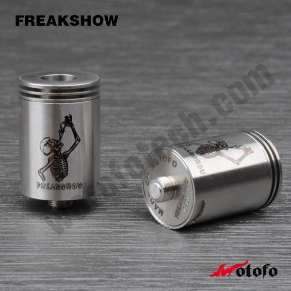 Alibaba English New RDA Atomizer Freakshow RDA Atomizer Wotofo A-MOD Freakshow RDA Atomizer In Stock