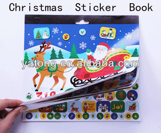 Chrismas sticker book