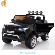 WDXMX601 2016 New Big 2 Seats Pick Up Car, Double Door Open, 4 Motors, Mp4 player, Eva Rubber Wheel Optional Baby Ride