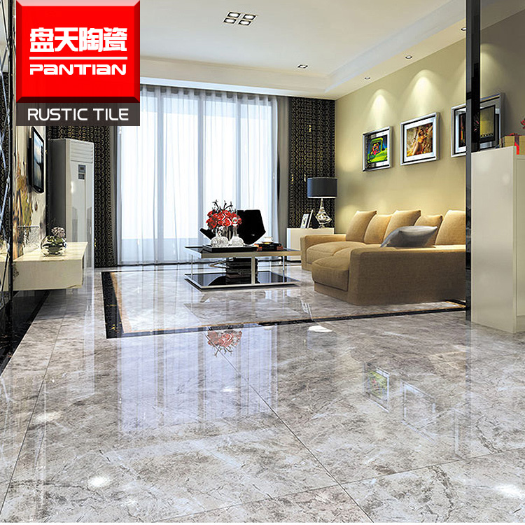 Hot selling exquisite marble look porcelain tile polished faux marble floor ceramic tile importers
