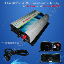Beautiful appearance on grid tie dc 12v wind inverter for ac 220v country