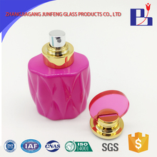 Junfeng 50ml hot sell empty glass cosmetic bottle of imported perfume