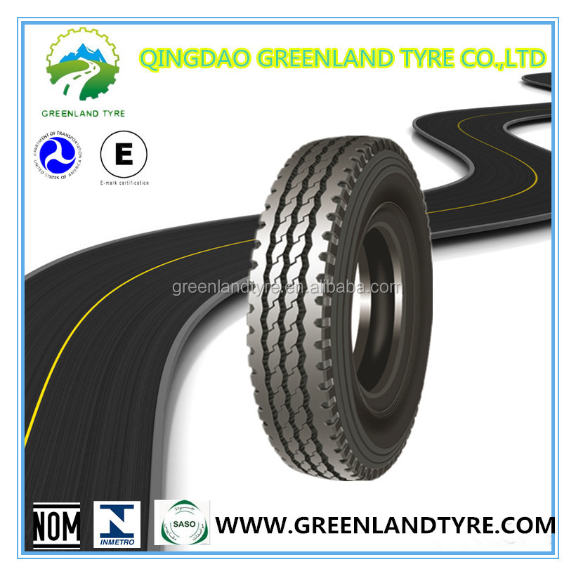 Radial truck tire 11.00R20 trailer/tractor//steer/drive DOT/Quality Liability insurance