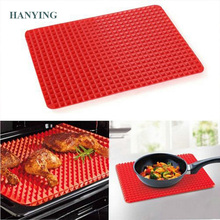Creative Pyramid Silicone Baking Mat Nonstick Pan Pad Cooking Mat Oven Baking Tray Mat Kitchen Tools Bakeware Gadgets