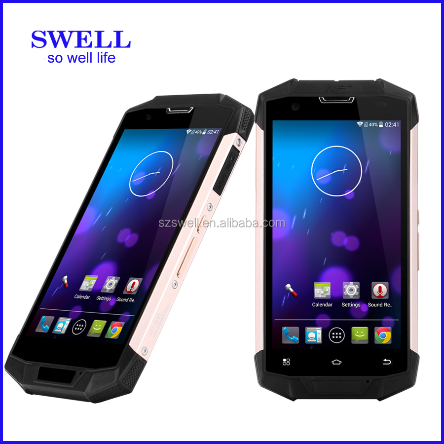 pda phone 4inch SWELL X9 Waterproof Dustproof Military atex mobile phone