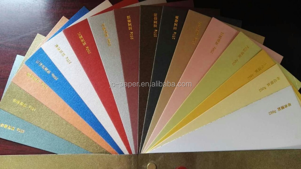 120gsm 250gsm colour pearl paper dyeing creasing shinning paper