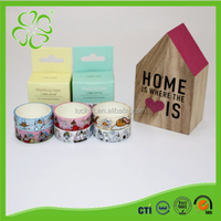 Writable Wrapping with Printed Washi Window Glass Decorative Tapes