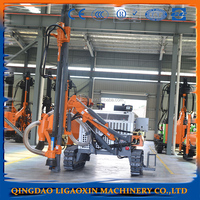 Drilling rig--LGX-ZD535 integrated DTH drilling rig