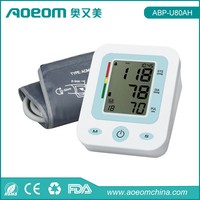 FDA 180 Groups Memory Time and Date Clock Digital Arm Blood Pressure Monitor