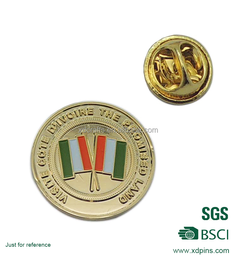 china factory fist pound indonesian arts and crafts italy flag lapel pin with butterfly clutch