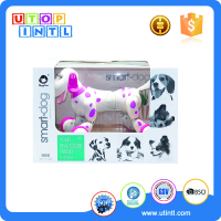Battery operated 2.4G R/C smart dog, electronic dog toys