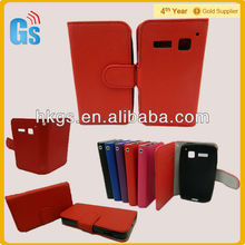 Wallet Pouch Card slot flip stand Leather Case Cover for Alcatel One Touch S'Pop S Pop, OT 4030d 4030
