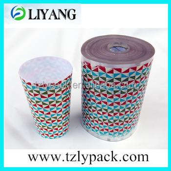 cute cartoon design,beautiful flower heat transfer printing film for plastic