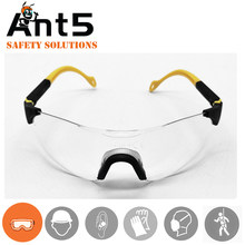 Safety glasses with cord clear lens goggles ansi prescription eye