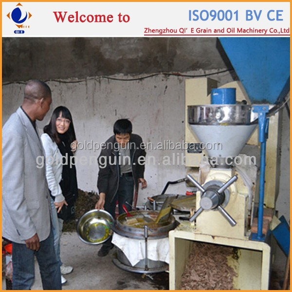 Small Scale Production oil extraction equipment rice bran oil
