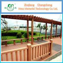 Wood plastic composite for garden pergola&balcony pergola/wpc gazebo