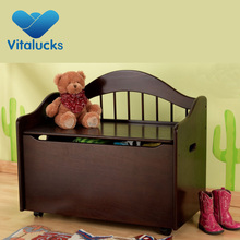Hot sale Customized fancy MDF wooden toy box wholesale