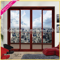 glass aluminium sliding door for boutique hotel,villa,star hotel,holiday house/China manufacturer/supplier/with catalog