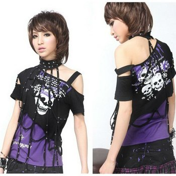 Visual Kei Punk Rave Gothic T-Shirt Medium 71201