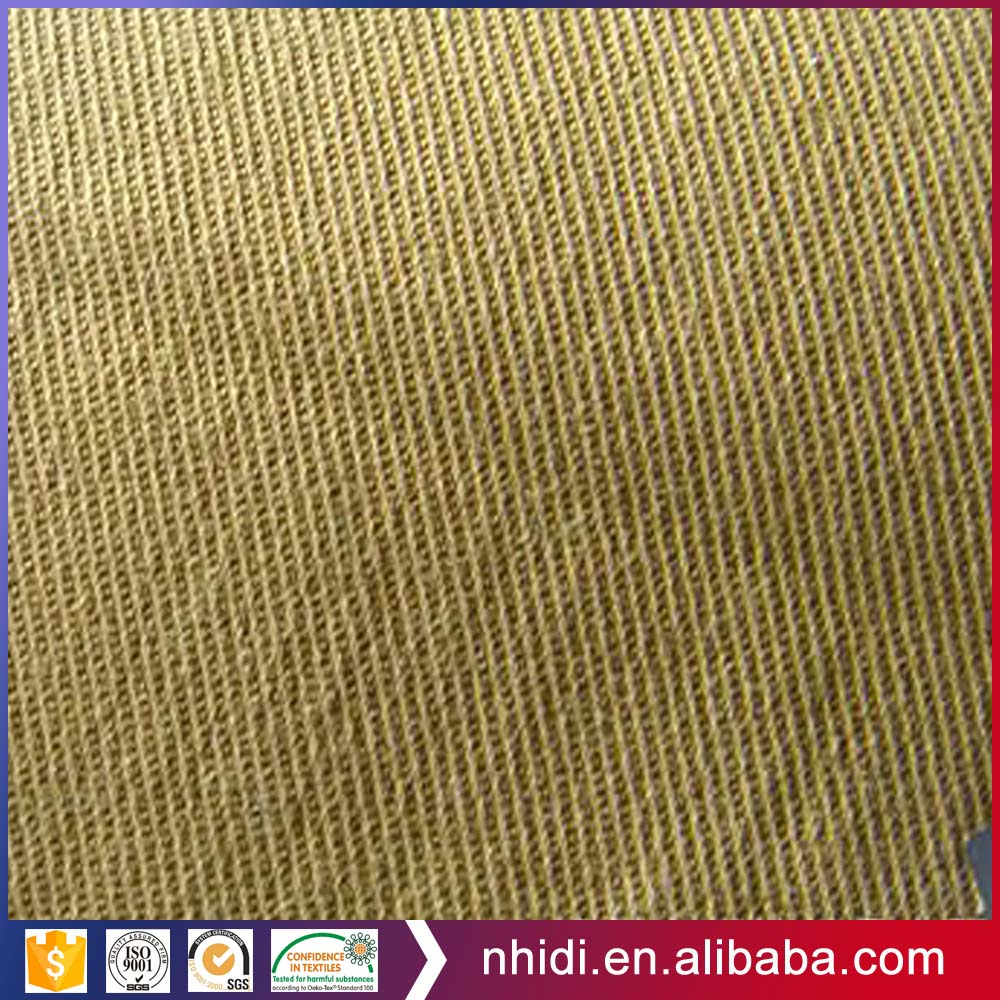 cotton spandex weft stretch satin fabric for ready made garment
