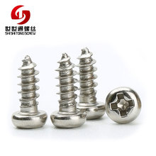 Hot Sale China Supplier Stainless Steel Phillips Pan Head TEK Beveled Screw