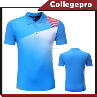Blue Dry Fit Sublimated Blank Golf