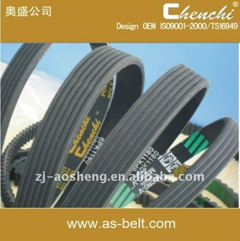 Plastic v belt with CE certificate oem transmissions auto spare parts