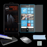 Top Class 9H Tempered Glass Clear 0.26mm Screen Protector For Nokia Microsoft Lumia 520