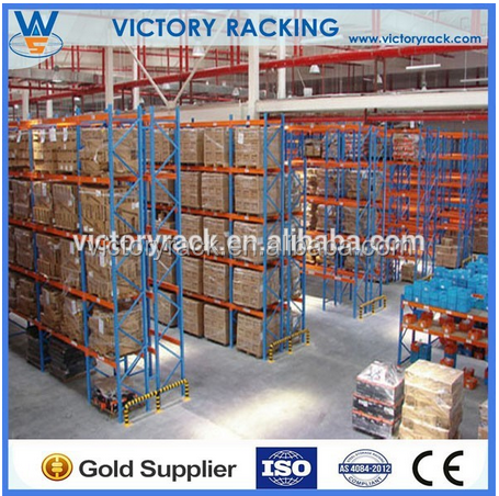 warehouse shelves adjustable Electronic Movable pallet racking for heavy duty