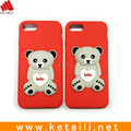 Factory supply 3D carton bear shape case for iphone 7