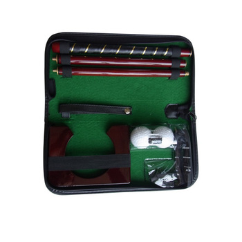 pu case golf putter training set Golf Putter set ,Golf gift set ,Mini golf putter set