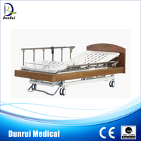 3 Functions Hospital Wooden Electric Care Nursing Home beds