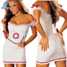 Adult cosplay sexy lady nurse costume girls tight dress