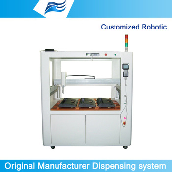 robot system for glue dispensing,glue dispensing system,precision automated machine