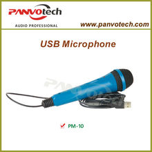 Panvotech PM-10 microphone usb / microphone usb flash drive