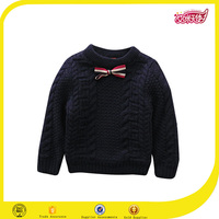 New design school uniform material sweater knitting machine and handmade sweater for kids and baby boys