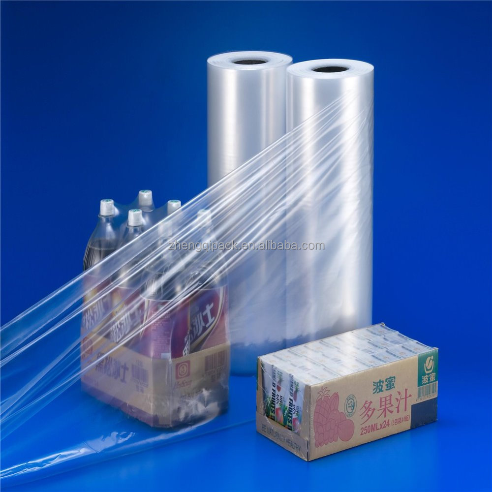 China manufacture high quality and low price PE shrink film