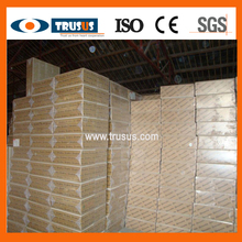 Decorative Wall Panel 20mm Thickness Acoustic Mineral Fiber Board