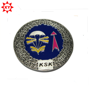 Durable customized military sword challenge coin