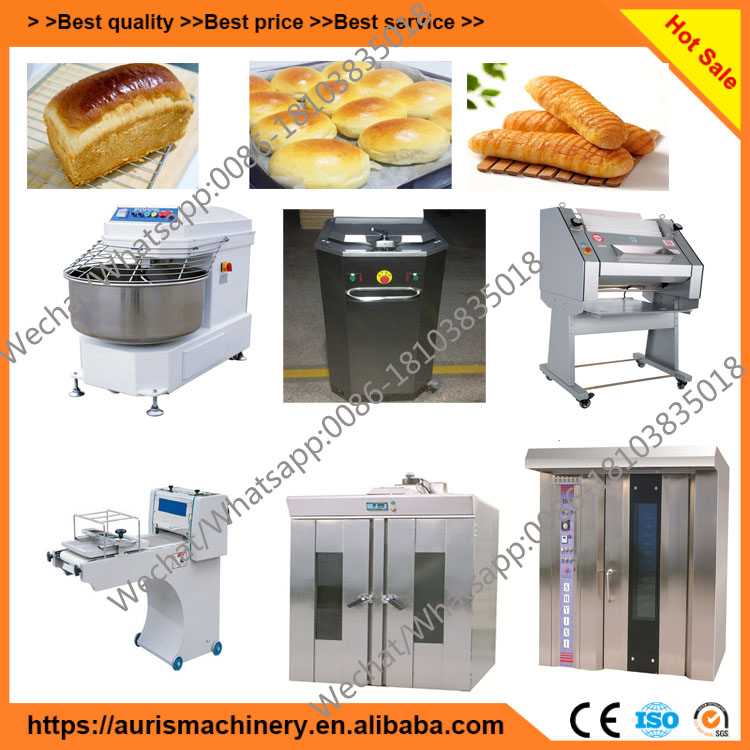 Automatic arabic bread production line