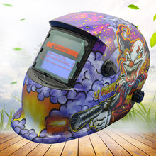 Lithium Battery And Solar Energy Auto Darkening Welding Helmets